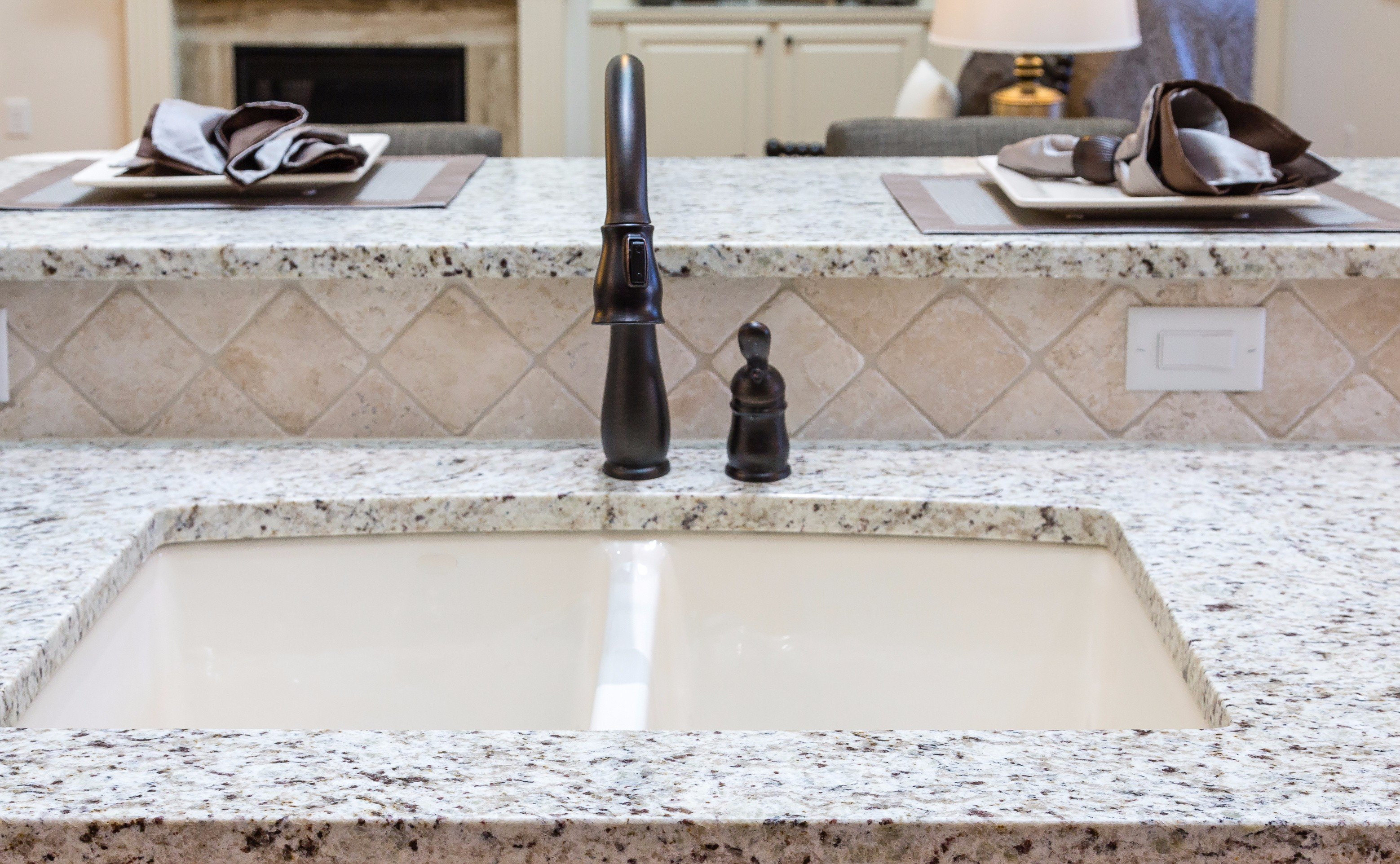 Tie Your Great Room Together with Granite Counter-tops