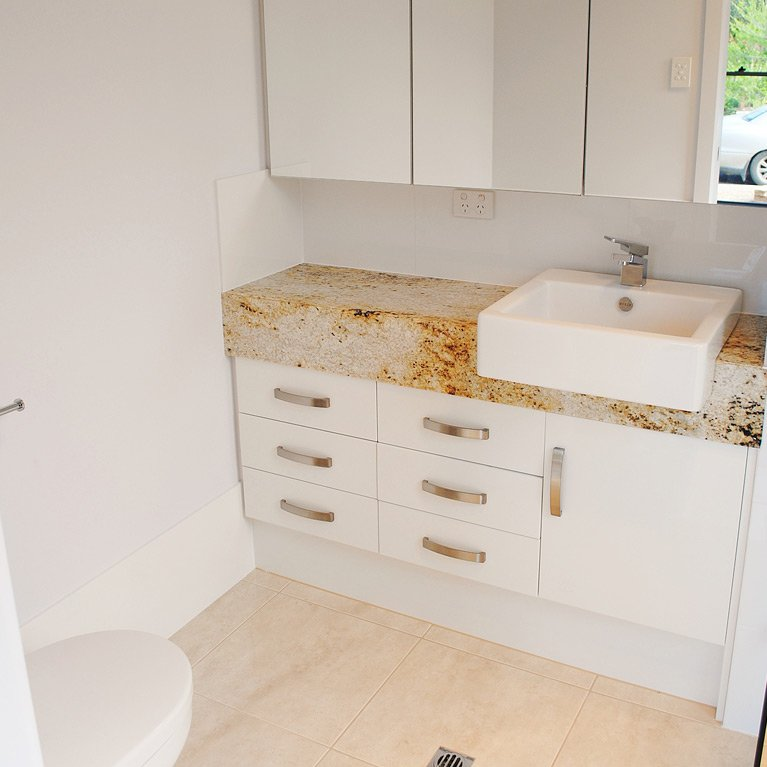 granite top vanity
