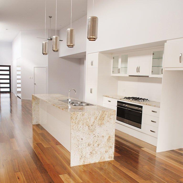 granite and timber kitchen