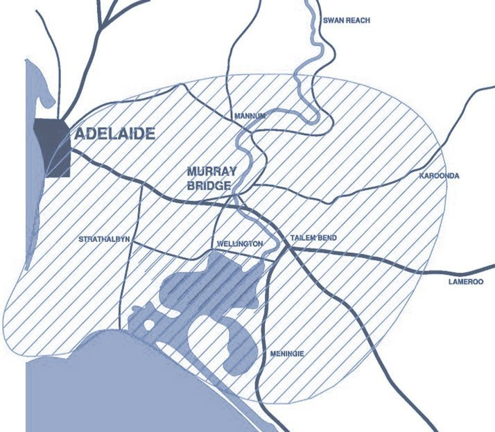 murray bridge area map