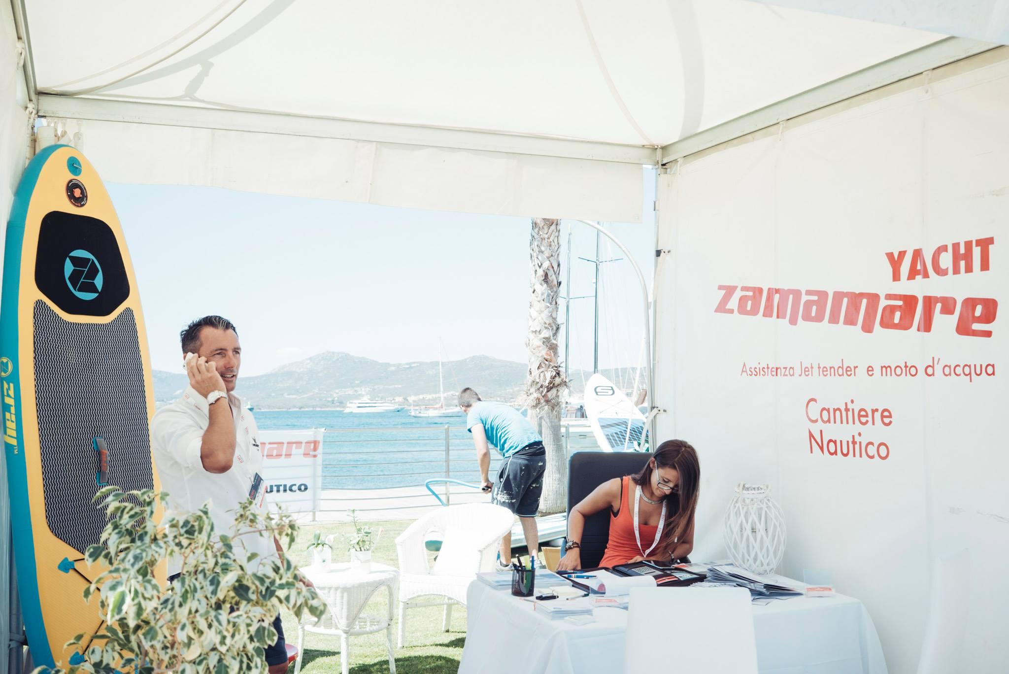 esposizione evento aziena ZAMAMARE