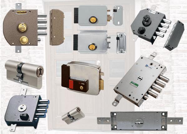 diverse tipologie di serrature