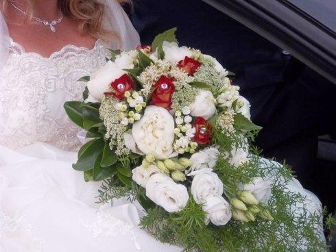realizzazione bouquet sposa