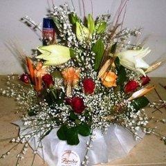 centrotavola fiori misti