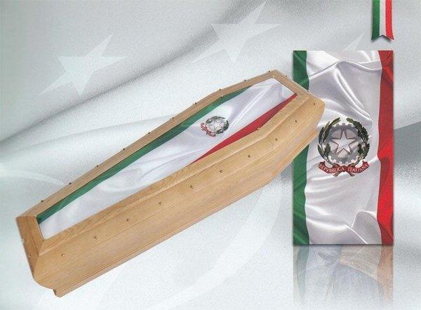 bara con bandiera italiana