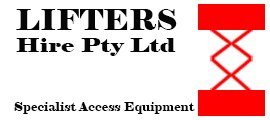 lifters hire pty ltd logo