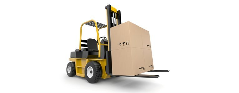 lifters hire pty ltd forklift with load