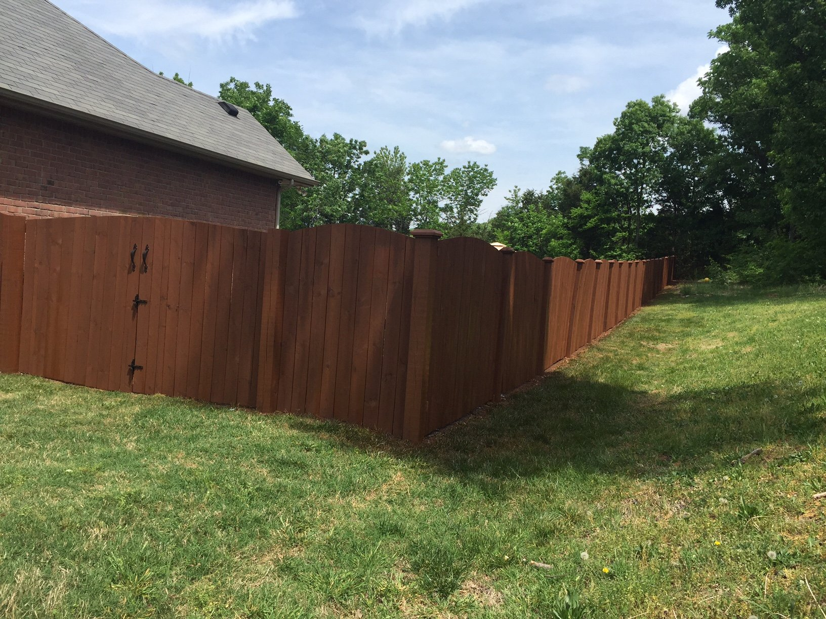 Beautiful Privacy Fence Nashville