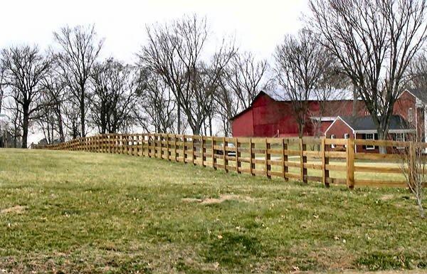 Post Amp Rail Fence Nashville Amp Murfreesboro Tn Clean Cut