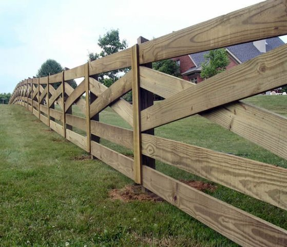 Post Amp Rail Fence Nashville Amp Murfreesboro Tn Clean Cut