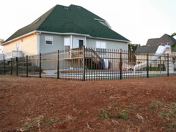 Ornamental Fence Gallery Nashville Tn Clean Cut Fence