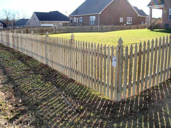 Picket Fence Gallery Nashville Tn Clean Cut Fence