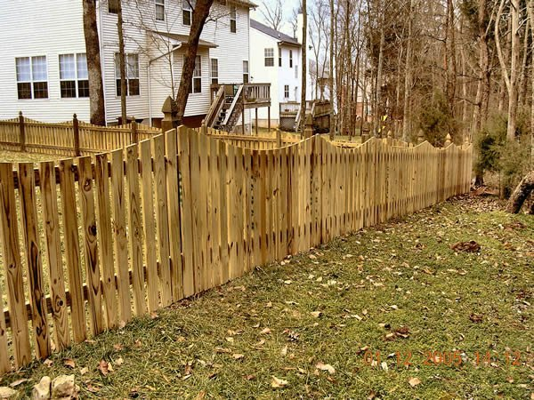 Semi Privacy Fence Nashville Amp Murfreesboro Tn Clean Cut