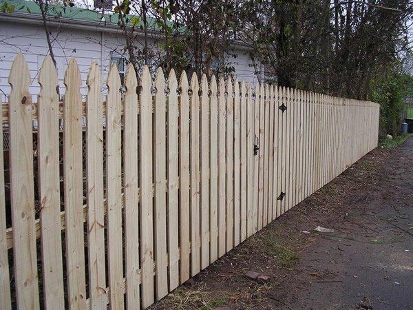 Semi Privacy Fence Nashville Amp Murfreesboro Tn Clean Cut