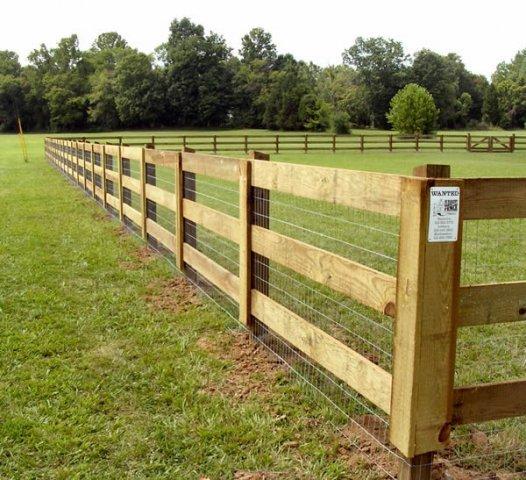 Post & Rail Fence Nashville & Murfreesboro TN | Clean Cut Fence
