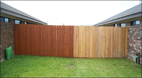 Fence Staining Nashville Amp Murfreesboro Tn Clean Cut Fence