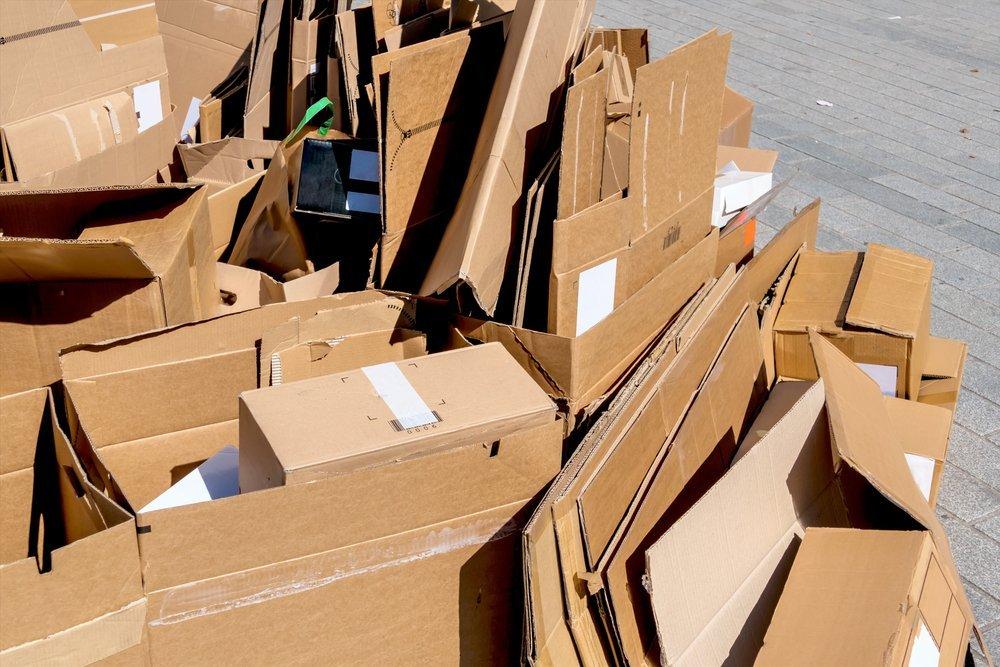 rifiuti di imballaggi