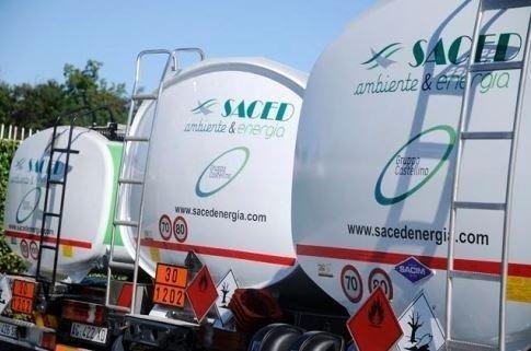 Cisterne per rifornimenti Saced