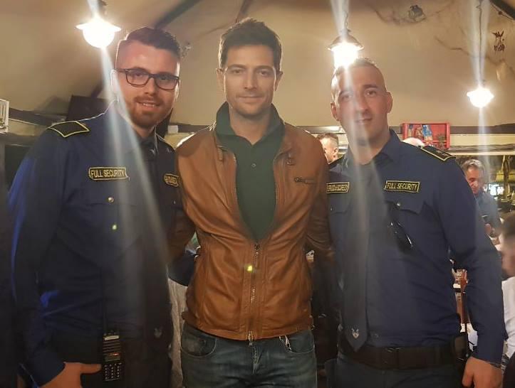 bodyguard con attore italiano