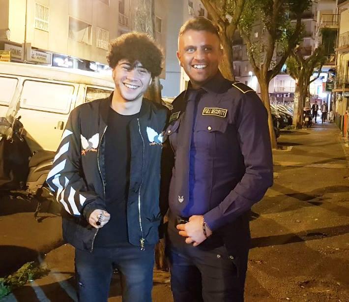 bodyguard e ragazzo
