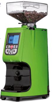 macchina espresso verde