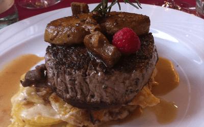 chateaubriand con salsa bernese