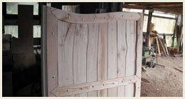 porticina legno