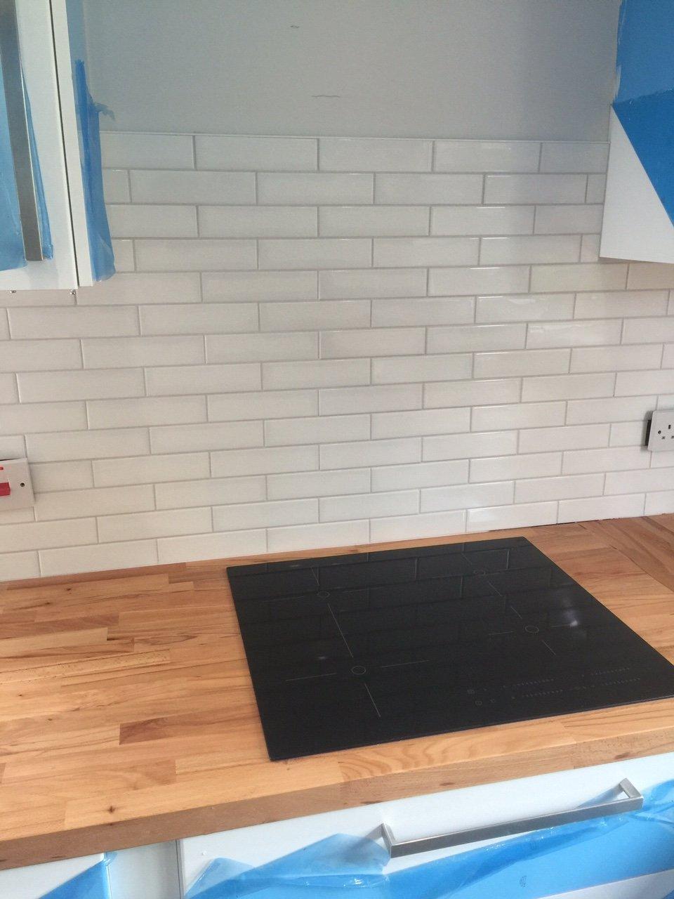 modern kitchen tiling