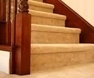 carpeting the stairs