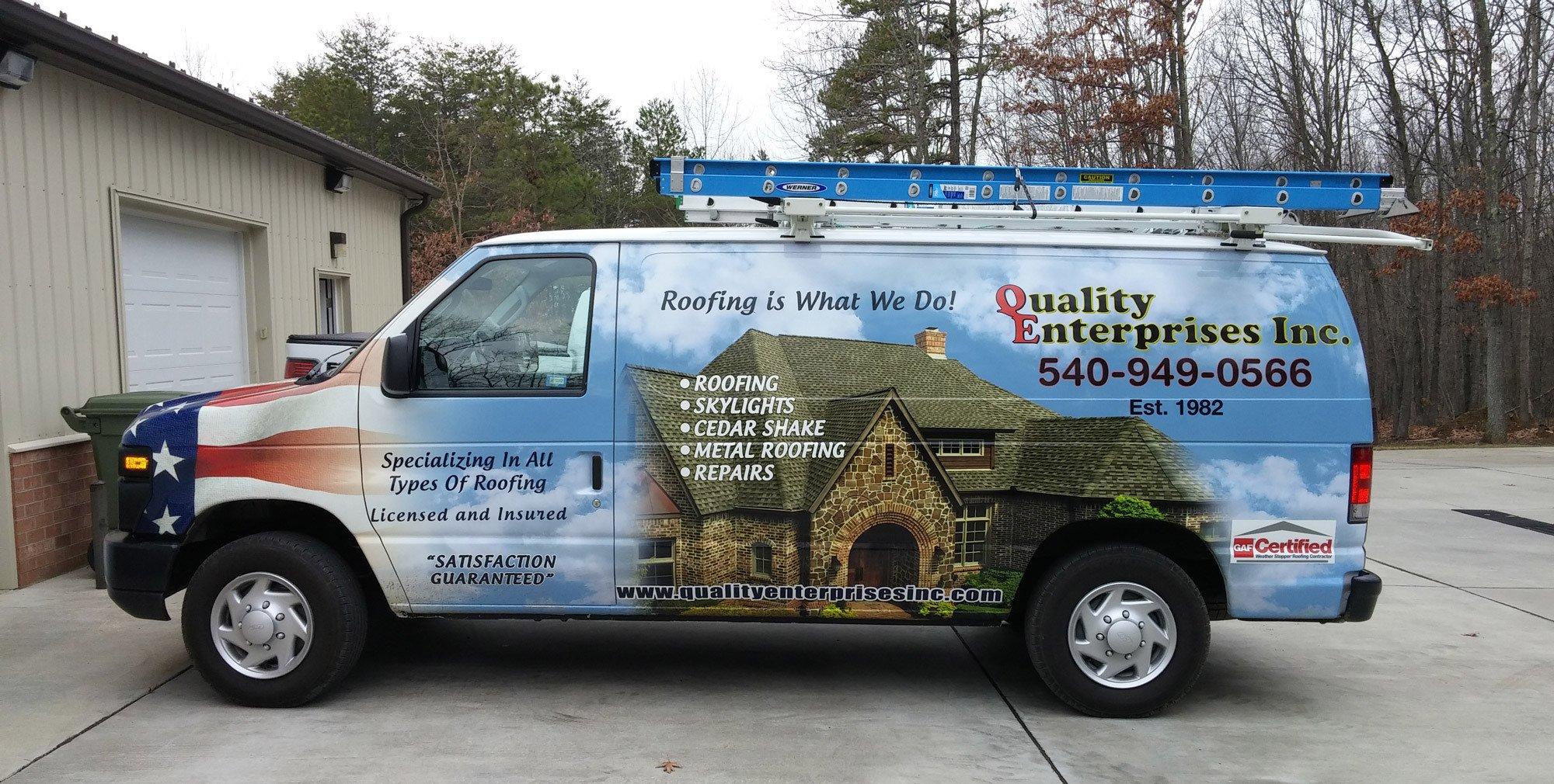 House with repairing roof in Waynesboro, VA