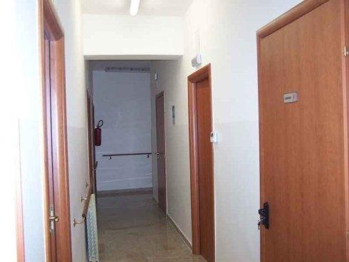 Visuale del corridoio della struttura