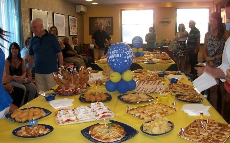 ristorante per feste di compleanno