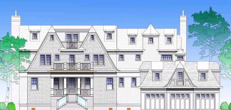 Exterior Design for Fairfield CT Green Home