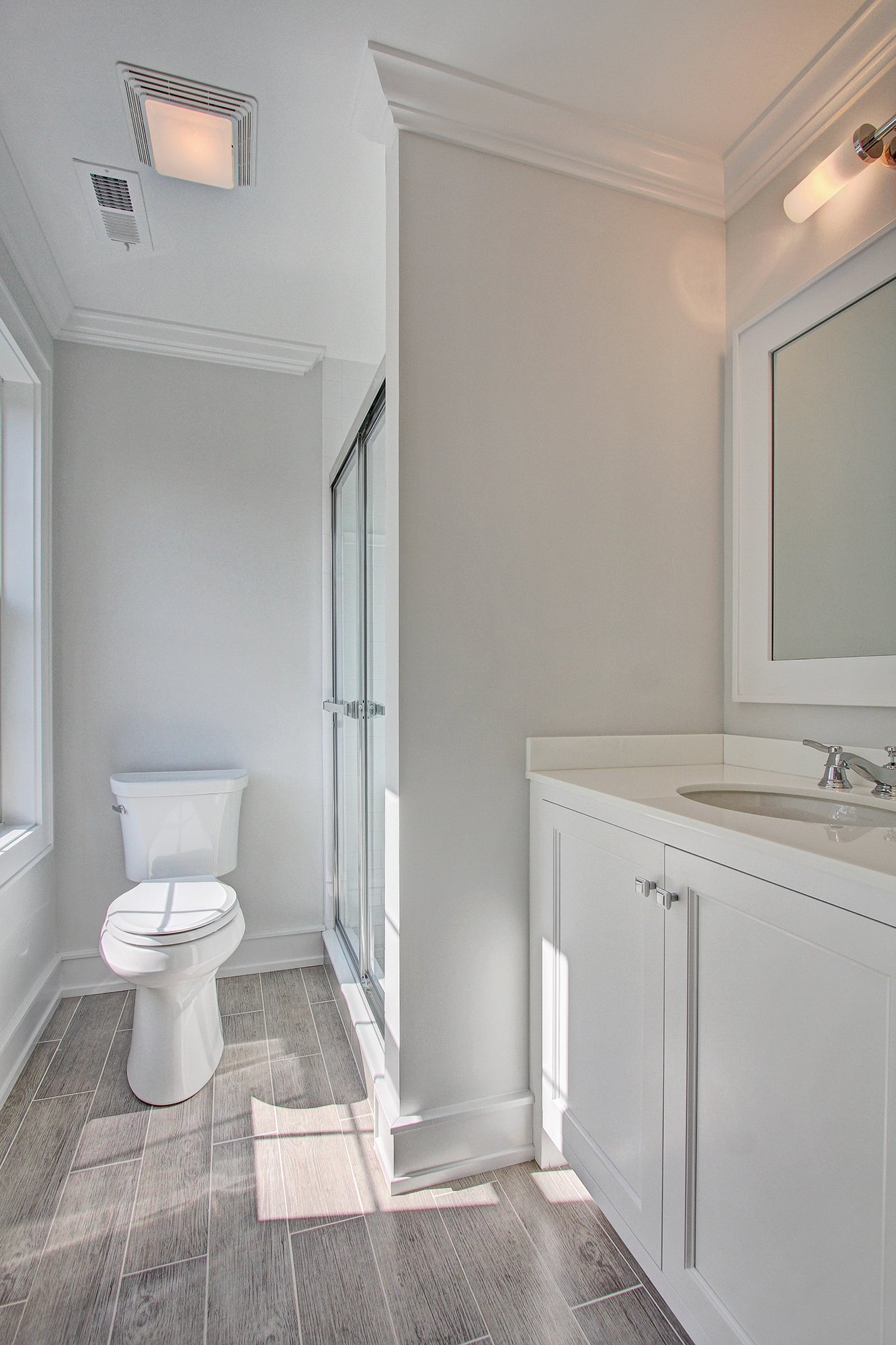 Green Healthy Home Bathroom Interior, Fairfield CT