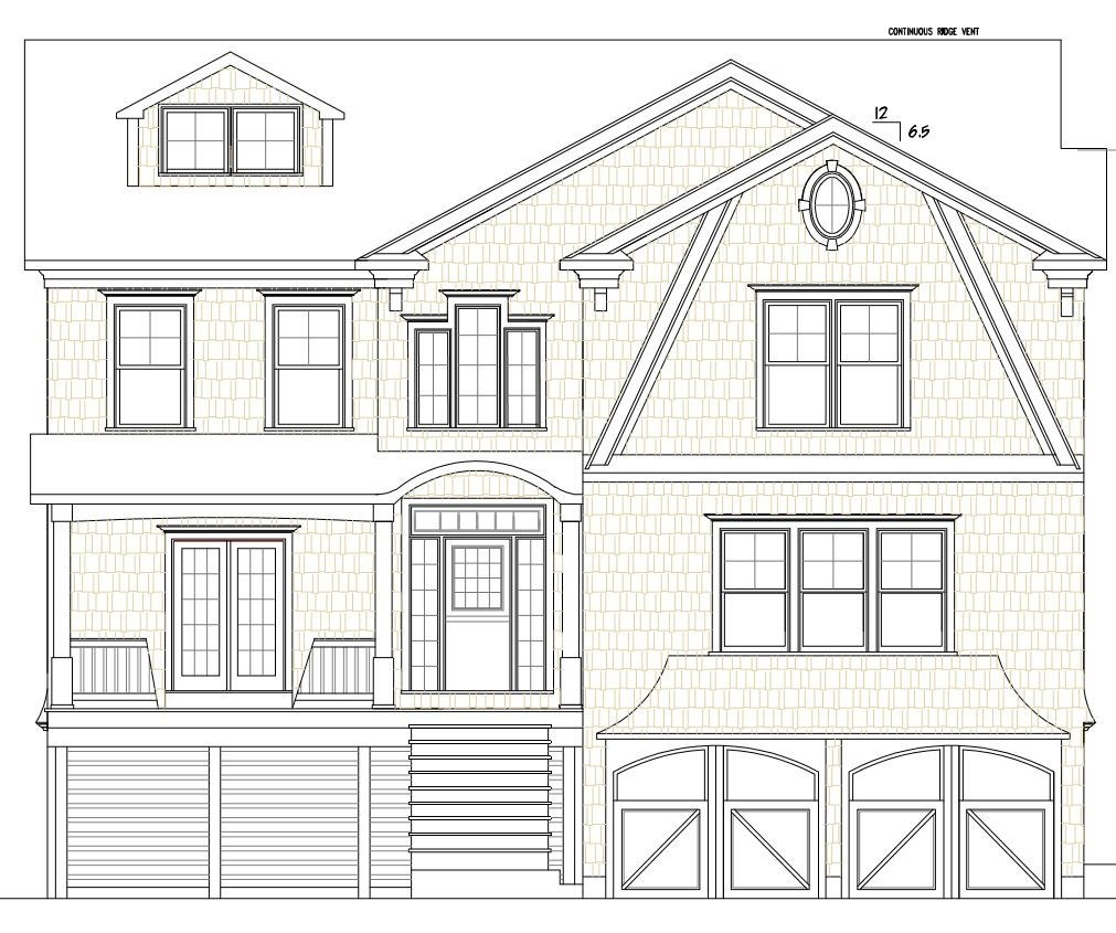 Exterior Blueprint for Westport CT Healthy Home