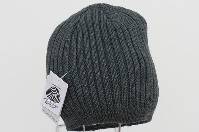 Cuffia da uomo 100% lana