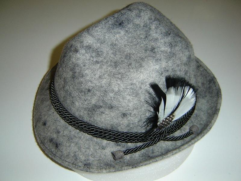 Tirolese rocciatore in feltro di lana