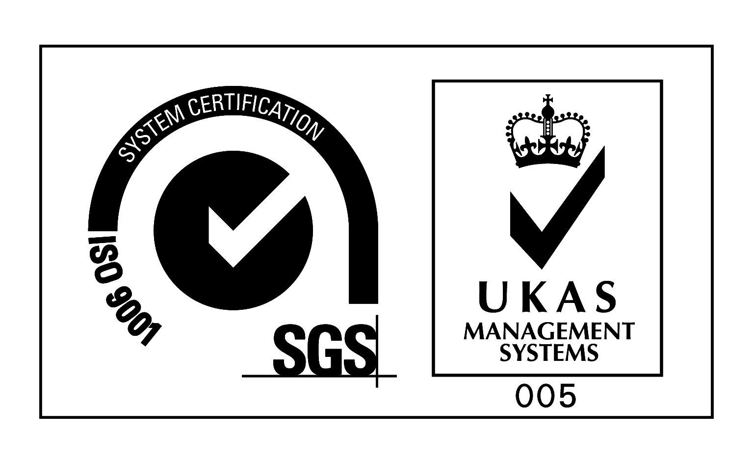 UKAS certification logo