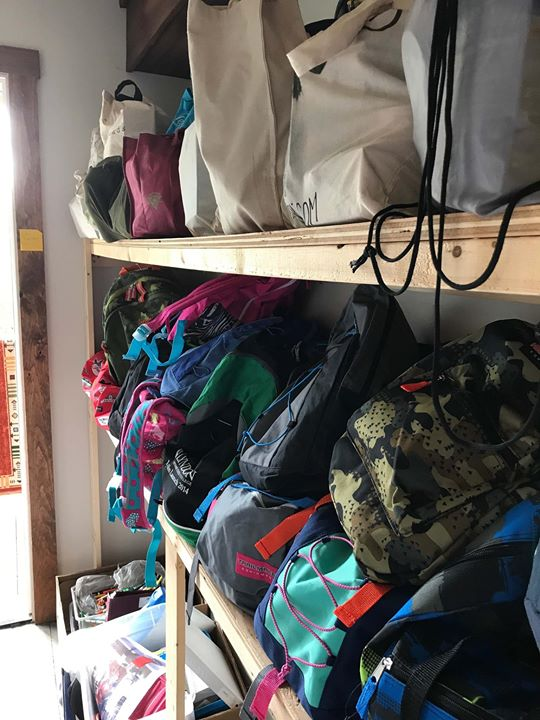 H.O.P.E. (Helping Other People Everyday) Backpack Program in Lyndonville, Vermont