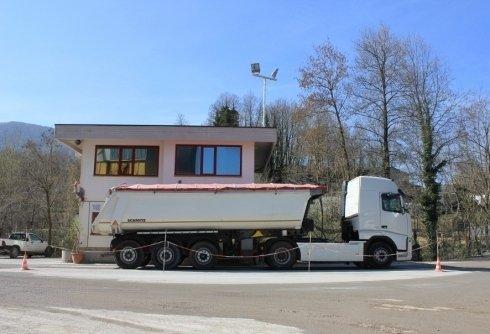 trasporto materiale estratto