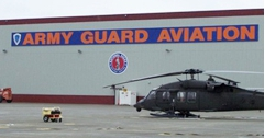 army guard aviation sign in Anchorage, AK,