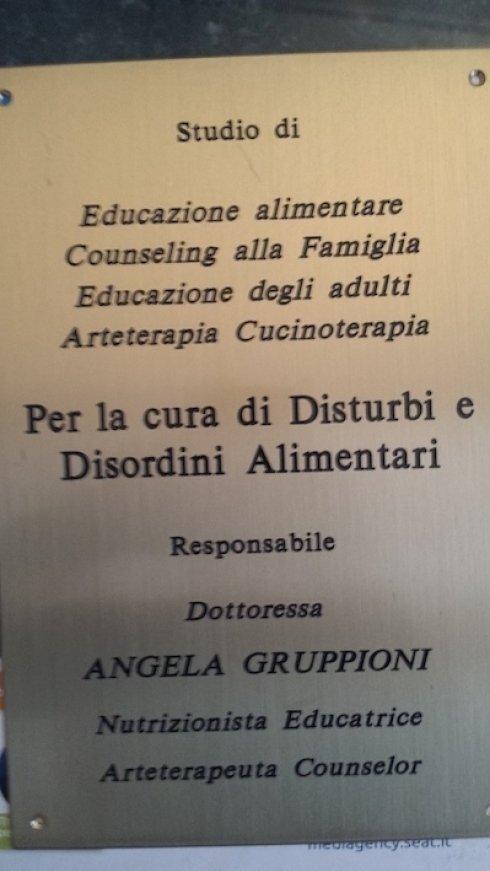 Dr. Angela Gruppioni dietologa
