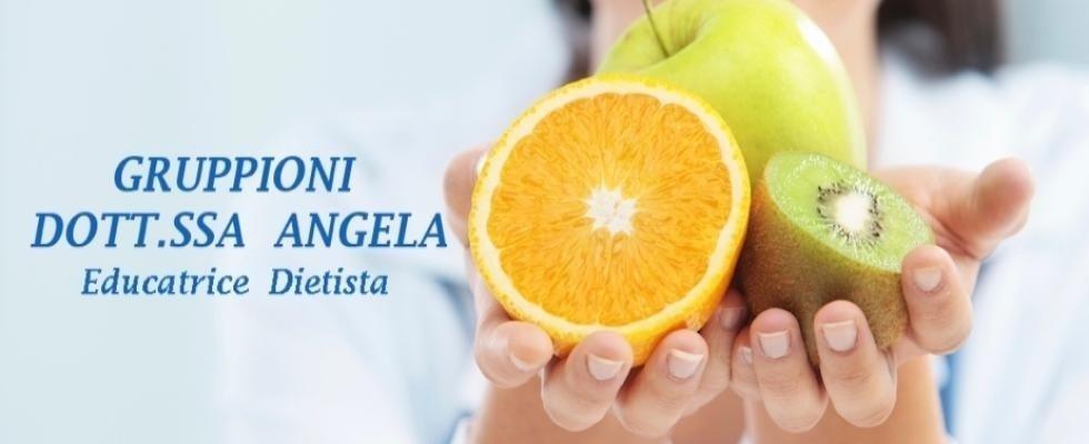 GRUPPIONI DR. ANGELA Educatrice Dietista Genova