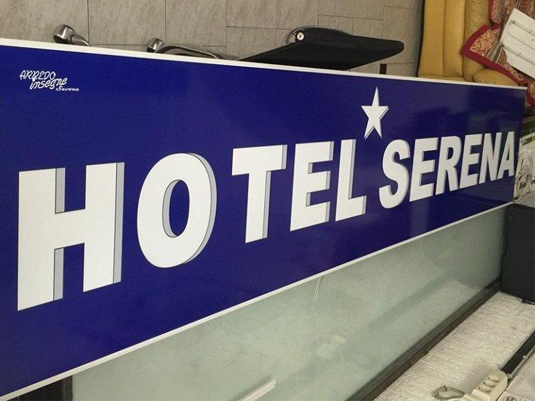 Insegna Hotel