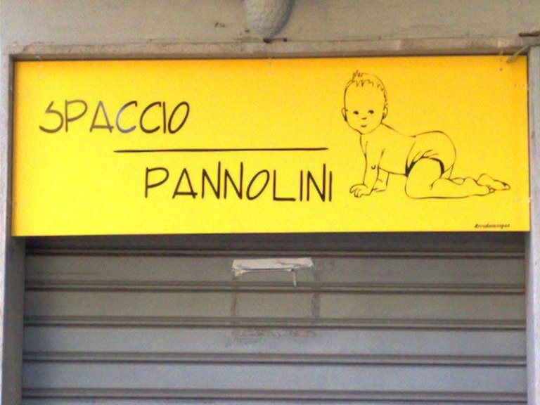 Spaccio Pannolini