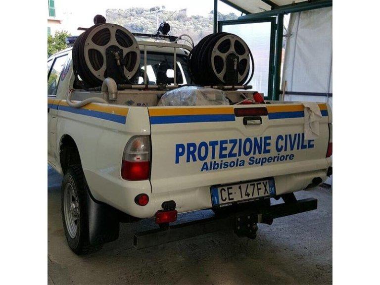 Insegna Protezione civile
