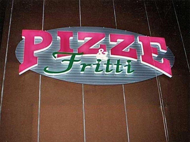 Insegne per Pizzerie