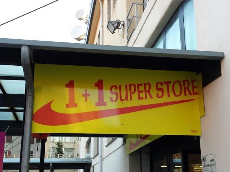Insegne per super store