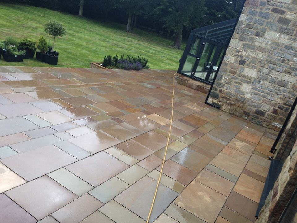Window cleaning commercial domestic harrogate for Patio cleaning solution
