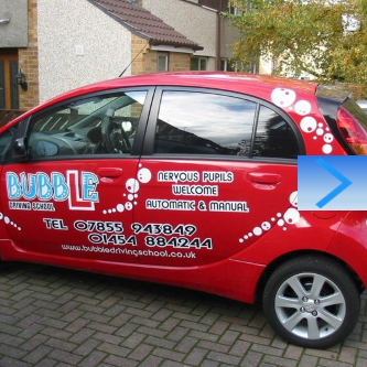 Automatic Driving Lessons in Clevedon